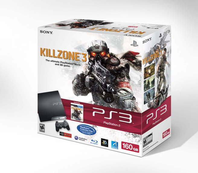 Bundel PlayStation 3 met Killzone 3