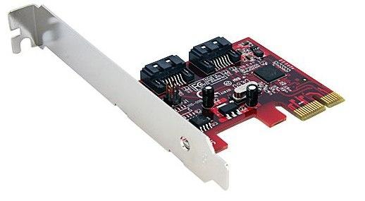 Startech StarTech.com 2 Port SATA 6 Gbps PCI Express SATA Controller Card - Controller voor opslag - 2 Kanaal
