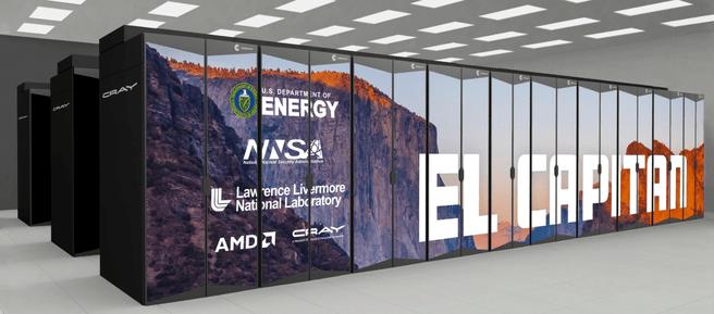 AMD El Capitan-supercomputer
