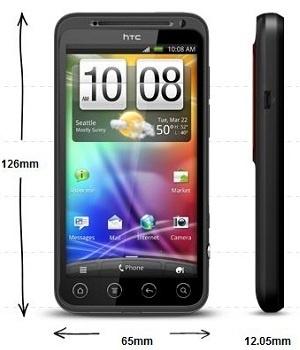 buitenmaten HTC Evo 3D