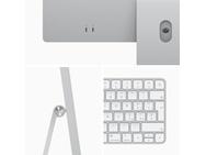 "Apple iMac 24"" Retina 4.5K (2021) M1, 7-core GPU, 8GB, 256GB ssd (Qwerty toetsenbord), Zilver"