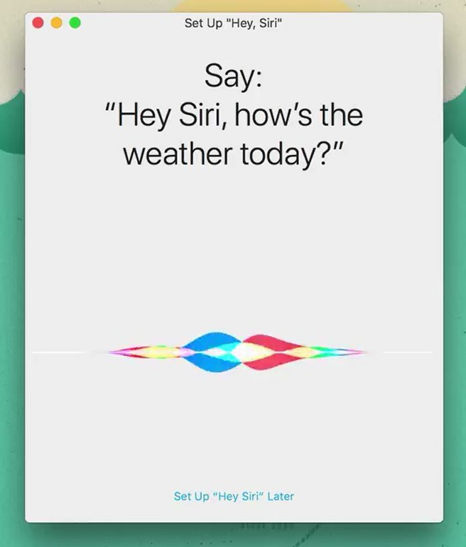 Apple Mac Hey Siri