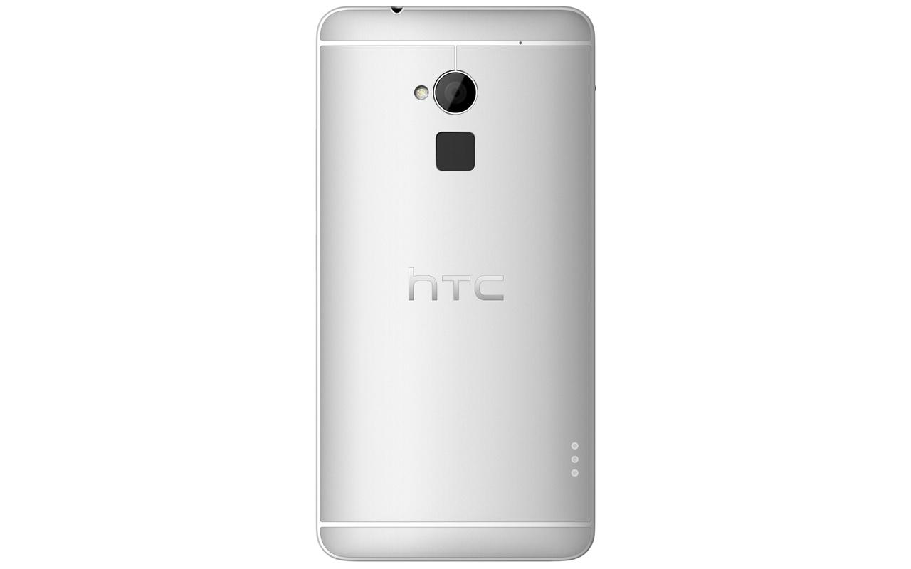 HTC One max met vingerafdrukscanner aan de achterkant