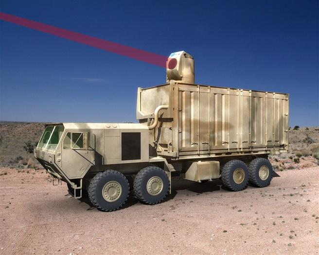 Laserwapen van Boeing