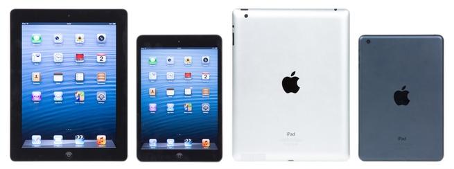 iPad (4e generatie) en iPad mini