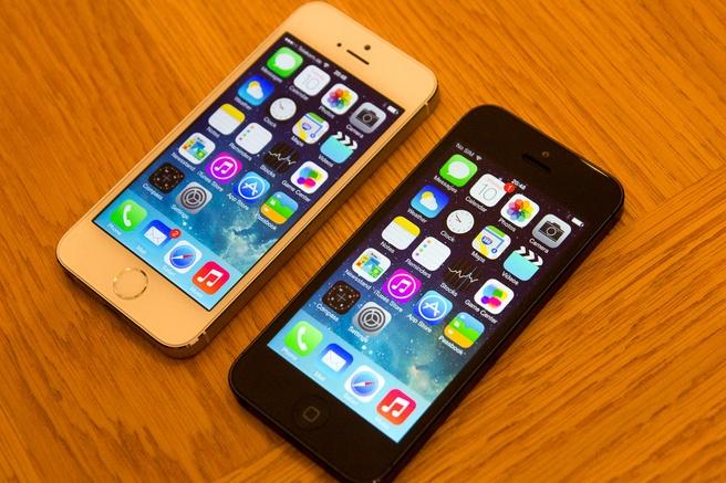 iPhone 5s en iPhone 5