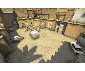 Dust 2 map