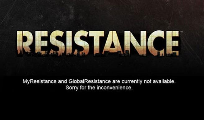 Website Resistance 3 offline