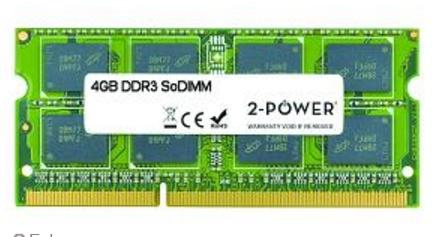 2-Power 4GB DDR3 SoDIMM
