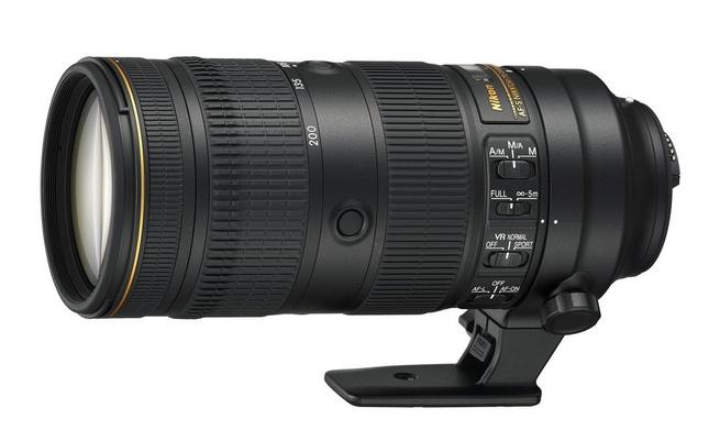 Nikkor 70-200mm f/2.8E VR