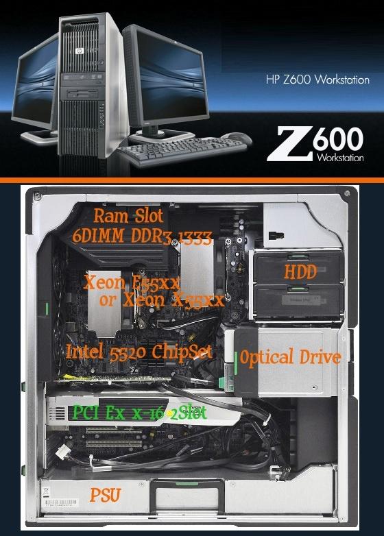 HP Workstation Z600 MT (KK713EA) - BeukersR - Userreviews