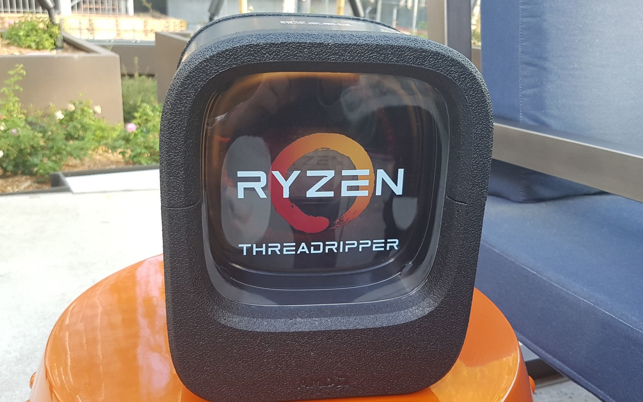 AMD Threadripper-verpakking