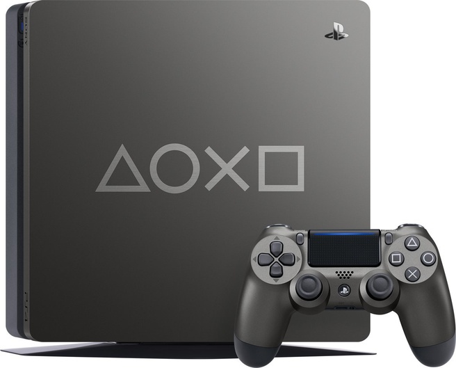 Sony PlayStation 4 Slim 1TB (Days of Play Special Edition) Zwart