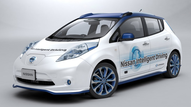 Nissan zelfrijdende auto