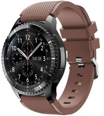 qMust Sport armband voor Samsung Gear S3 Classic / Frontier - bruin