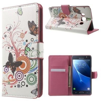 qMust Samsung Galaxy J5 (2016) Wallet Case - hoesje met stand - Spring