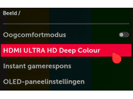 HDMI ULTRA HD Deep Colour