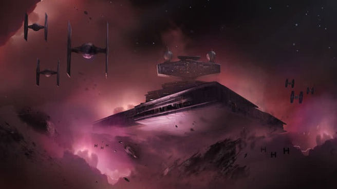 Star Wars concept art Visceral Games