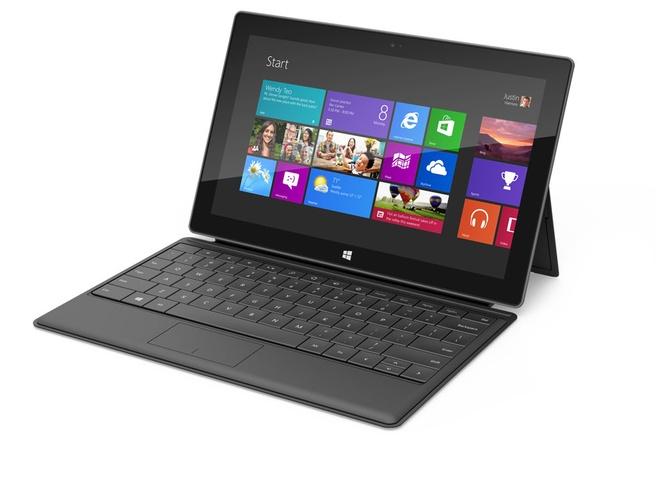Microsoft Surface Windows 8 Pro Zwart