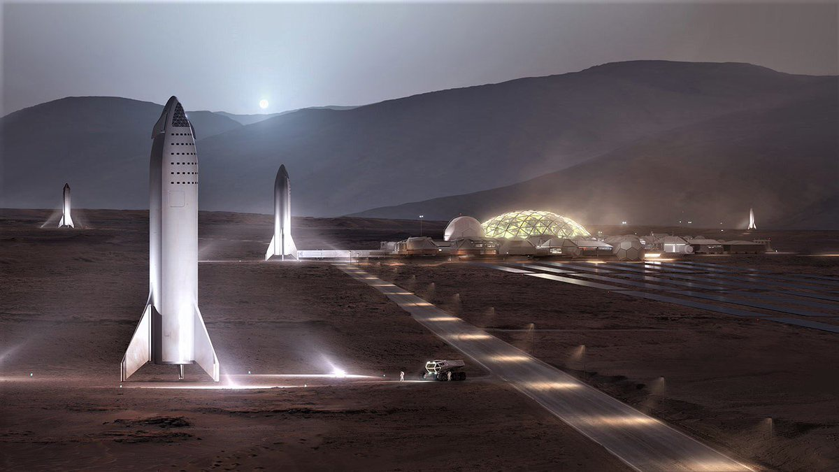 SpaceX Mars Base Alpha en BFR