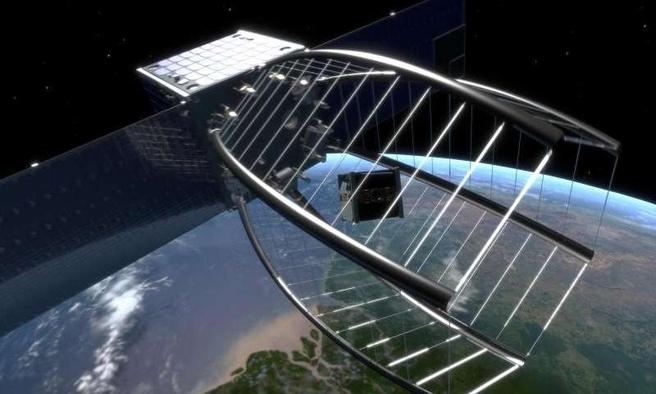 cleanspace satelliet