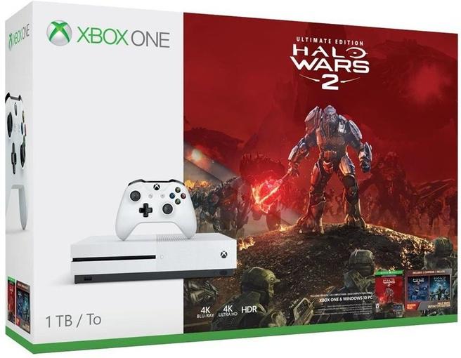 Microsoft Xbox One S 1TB + Halo Wars 2: Ultimate Wit