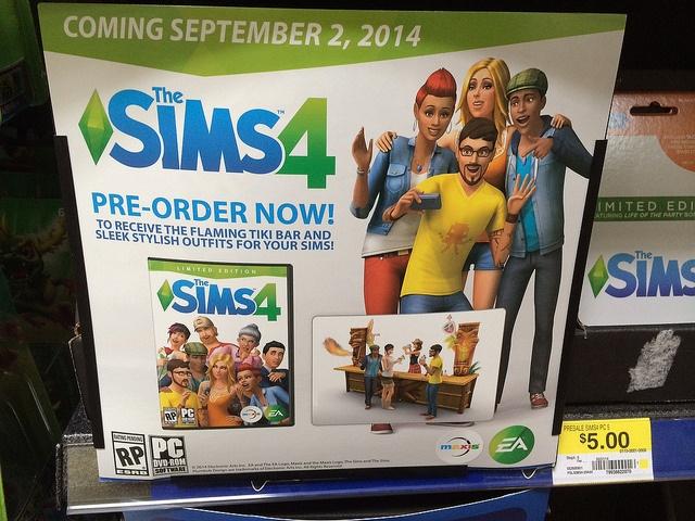 De Sims 4 aankondiging