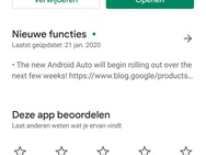 Android Auto in Nederland