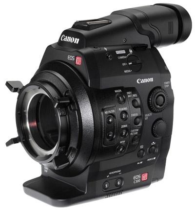 Canon Cinema EOS C300 fpa