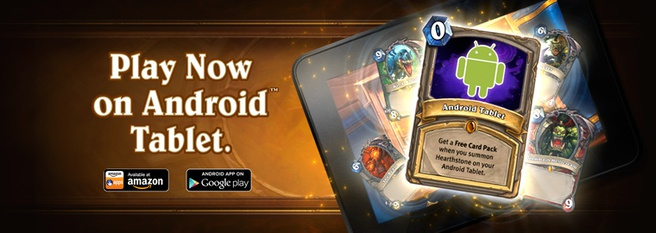 Hearthstone Android-tablets