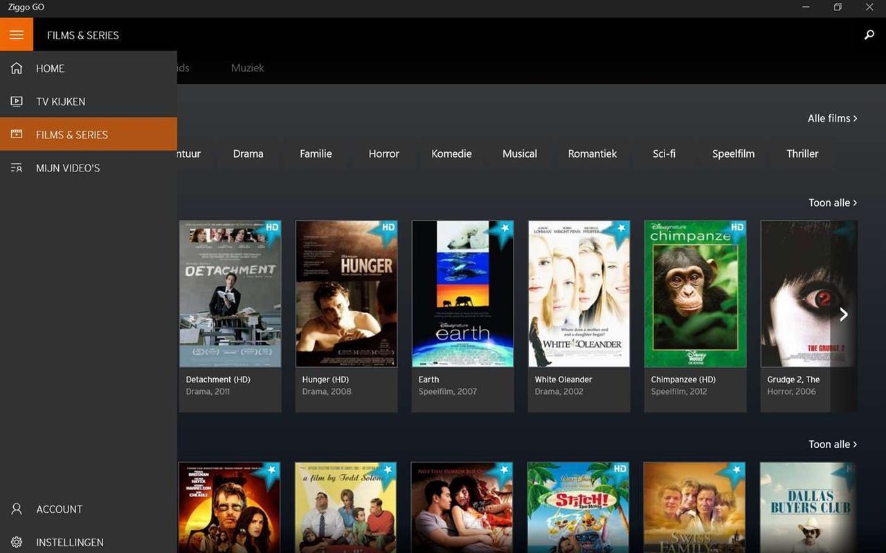 Ziggo hernoemt Horizon Go naar Ziggo Go en brengt Windows 10-app uit ...