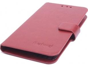 qMust Acer Liquid Z410 Wallet Case - hoesje met stand - bruin