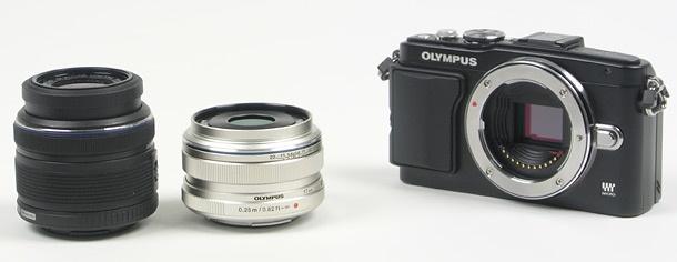 Olympus 17mm f/1,8 top