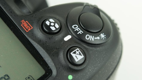 Nikon D7000 sluiterknop