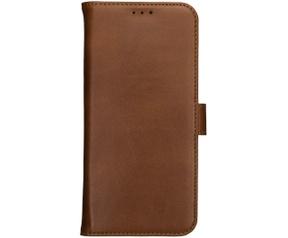 Rosso Deluxe Galaxy Note 10 Plus Hoesje Echt Leer Book Case Bruin (Note 10 Plus) Bruin