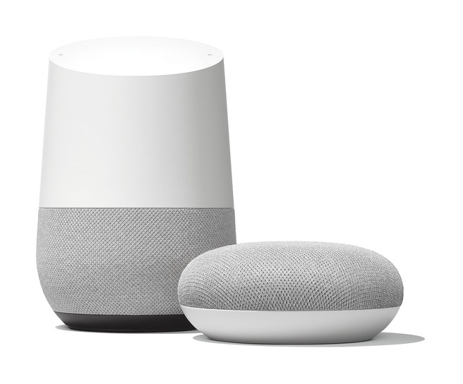 Google Home en Home Mini
