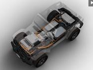 Concept van de Jeep Wrangler EV