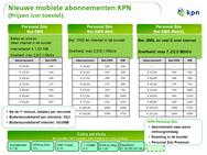 Nieuwe abonnementen KPN per 5 september