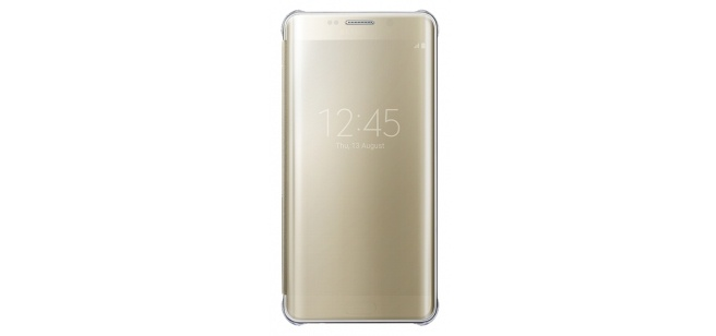 Samsung Clear View Cover Galaxy S6 edge Plus - EF-ZG928CF - Gold