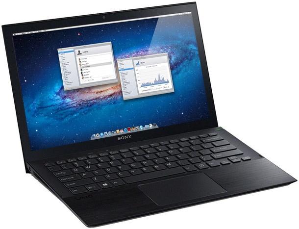 Sony Vaio Pro 11 met Mac OS X