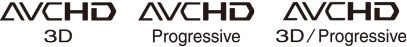 Avchd 3d specificatie