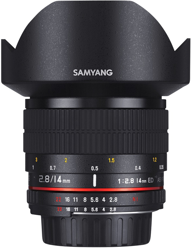 Samyang Optics 14mm F2.8 ED AS IF UMC