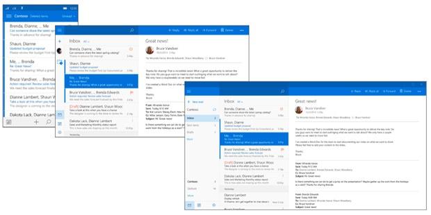 Windows Universal Mail app