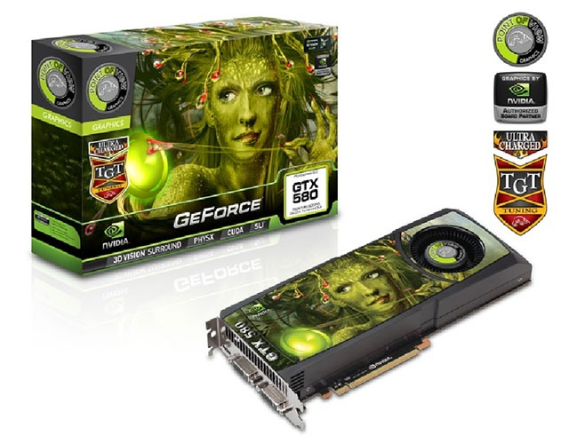 Point of View GTX 580 3GB UltraCharged