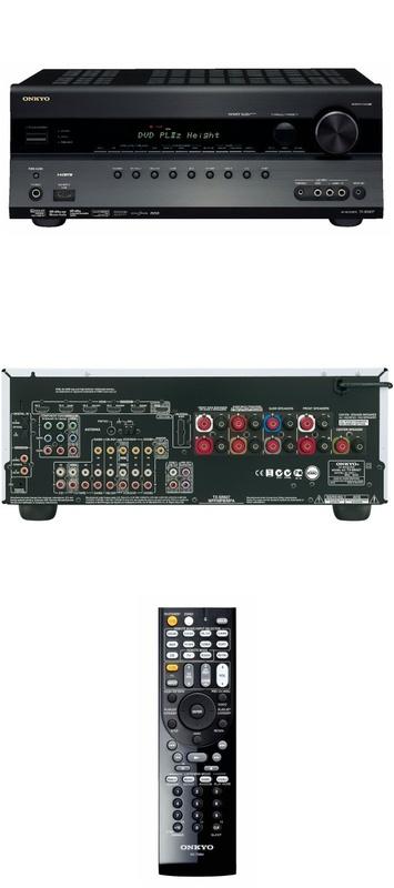 Onkyo TX-SR607 Zwart