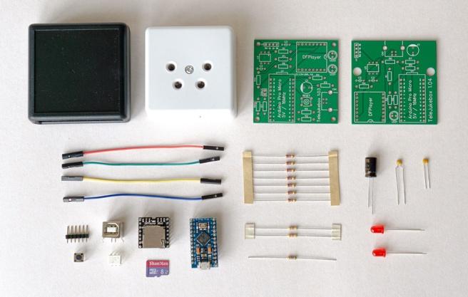.Build Wonderfoon - Onderdelen TeleJukebox