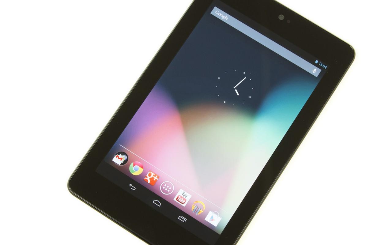 nexus 7 klein maar fijn behuizing tablet of grote. Black Bedroom Furniture Sets. Home Design Ideas