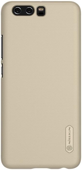 Nillkin Frosted Shield Hard Case voor Huawei P10 Plus - Goud Goud