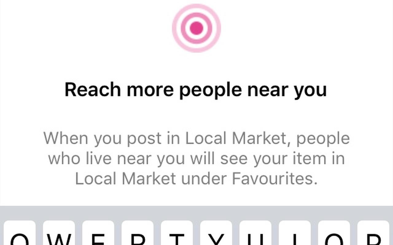 Facebook Local Market