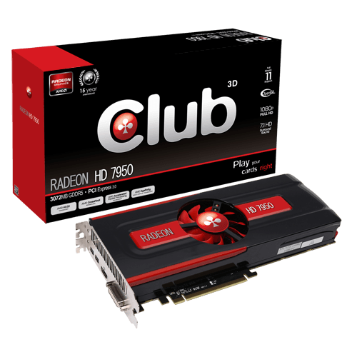 Club3D Radeon HD7950
